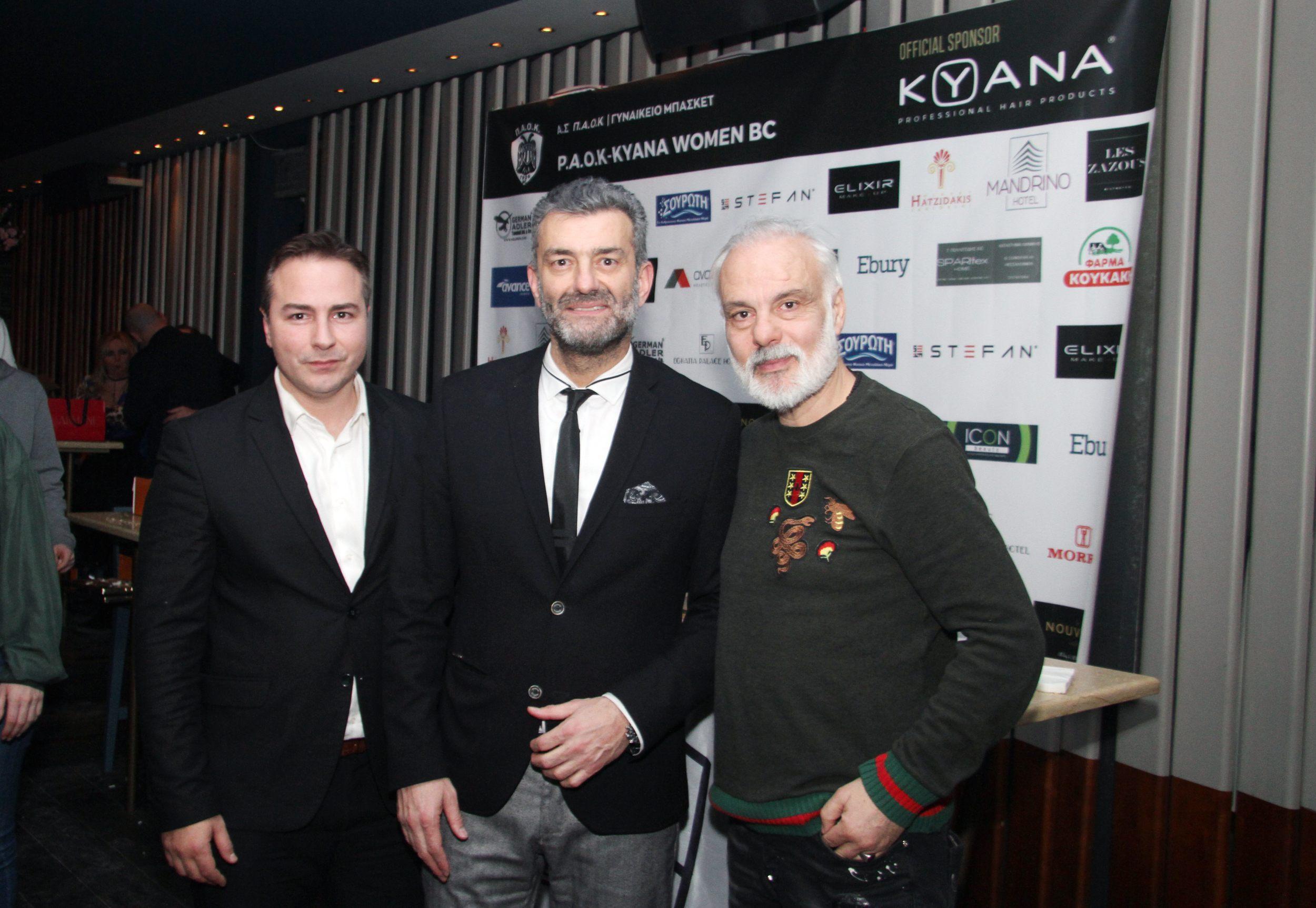Διαμαντής Γκολιδάκης-Γιάννης Βασιλειάδης-Κυριάκος Κερανόπουλος