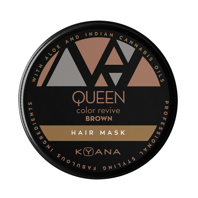Queen χρωμομάσκα – καφέ