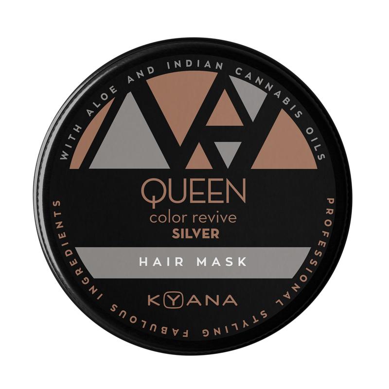 Queen χρωμομάσκα – ασημί